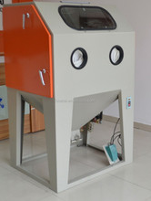 Dry sand blast cabinet machine for surface treatment