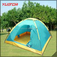 2 person tent double skin fiberglass pole 4 season dome camping hiking backpacking tents