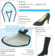 Shoe counter and toe puff material for woman shoes making