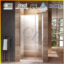 8mm glass custom fiberglass shower enclosure 1000x1900mm for hotel use