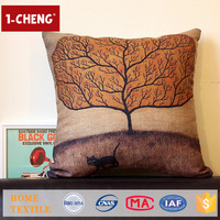Hot Sale Creative Design Printed Cushion Home Decor Pillow Case Wholesale Throw Pillow Covers