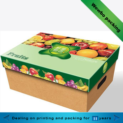 high quality fruit and vegetables paper box