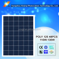 High efficiency poly solar panel 110 watt solar power for home use