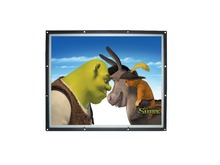 17 inch open frame lcd advertising player with auto update content to CF card via USB function(RCS-171OP)