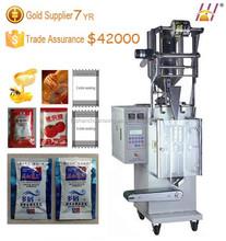 Tomato paste packaging machine, Small vertical packing machine for liquid sachet, Soy sauce sachet packing machine