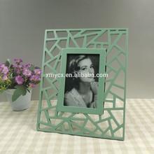 hecho a mano polyresin marco simple para la venta