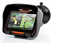 4.3'' waterproof motorcycle gps navigation,support bluetooth auto gps navigator