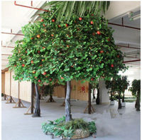 indian fruit trees artificial apple tree ornamental artificial fruit trees