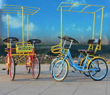china cheap worthy leisure pedal 4 wheel adult bike for adults 2015