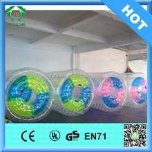 HI Top Quality 0.8mm/1.0mm PVC/TPU inflatable water roller, water roller, inflatable water toys