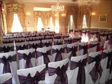 Chiffon Chair Sashes for Wedding Banquet