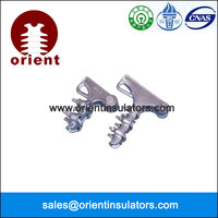 power line high tension strain relief cable clamps