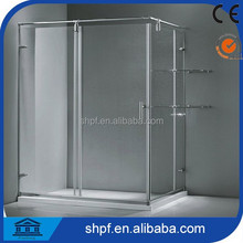 8mm tempered glass made in china stainless steel shower enclosure