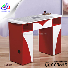 manicure table vacuum and nail salon furniture