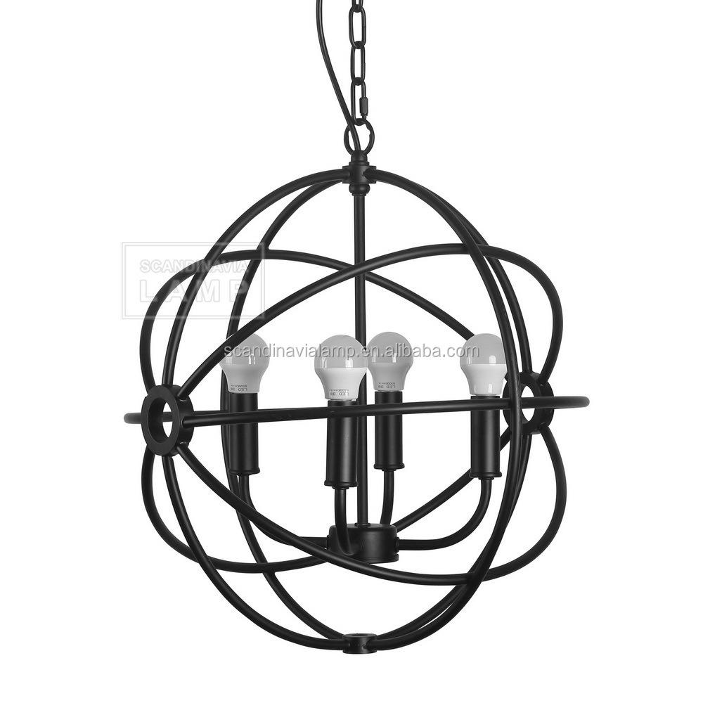Manufacturers Metal Ball Pendant Lamp Round Ball Pendant