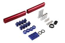 accessories for car high flow top feed fuel injector billet fuel rail kit for SUBARU WRX STI EJ20 EJ20T STI