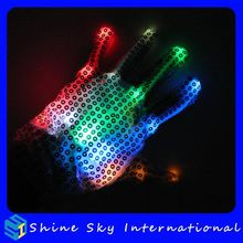 Fashion Hot Sell Angel Decoration Flashing Gloves