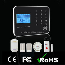 Wireless Home Security Safe House Alarm System GSM+PSTN Android & IOS APP