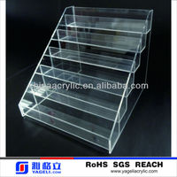 customized wholesale acrylic table top nailpolish rack(welcome trial order)