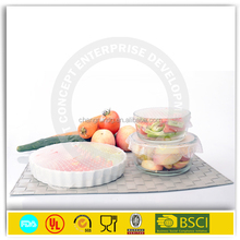 silicone wrap film cling, food grade silicone fresh wrap