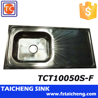 201 Cheap Kitchen Sink Supply by TaiCheng Sink Factory