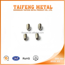 china factory high quality anti corrision stainless steel grub screw