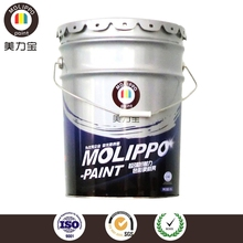 Fast drying finish paint for construction equipment