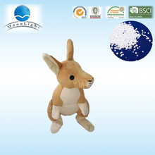 The kangaroo microbead stuffed toys transform into u shape pillow