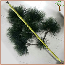 Artificial pine branch for indoor and outdoor pine tree make