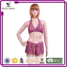 professional wholesale healthy hot sell miss holland sexy beach girls padded fringe bikini