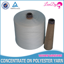 20 2 high quality raw white spun polyester yarn sewing thread