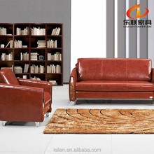 french country style Wholesale pu leather cushion sofa S809