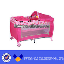 popular floding and good quality baby cribs