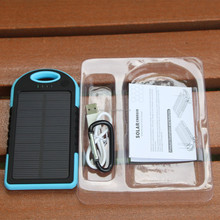 Hot sale low price and high quality solar power bank 5000 mah