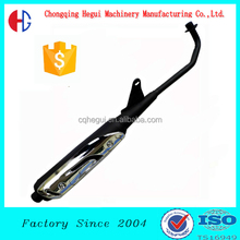 factory wholesale super weld high performance exhaust for custom motorcycle