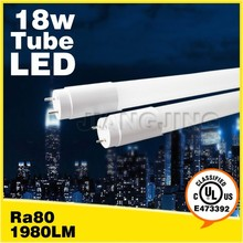 1200mm great heat dissipation quick start 18w UL led light
