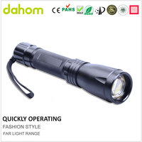 High power source RoHS REACH ErP PAH standard 10W 1000lm 3*C led torch