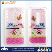 [NP-2375] TPU Case with Diamond designs for LG G3, 0.125 PET transparent case for LG G3, transparent thin TPU Case for LG G3