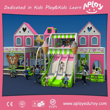 Kids indoor playground equipment factory sale for children amusement park playing game toys with slide AP-IP30003