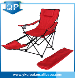 cheap and high quality military folding camping lounge chair with footrest