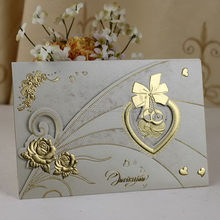 New branded wedding day wishes greeting cards