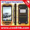 Alps A8 IP67 Waterproof Rugged Smartphone MTK6572 Dual Core 512MB RAM 4GB ROM 4 Inch nfc android smart phone
