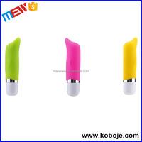2015 Hot selling silicone sex toys realistic waterproof automatic pocket vibrator banana dildo