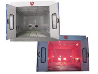GS-200A-infrared heater spray booth
