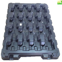 Large Black ABS vacuum forming anti static tray