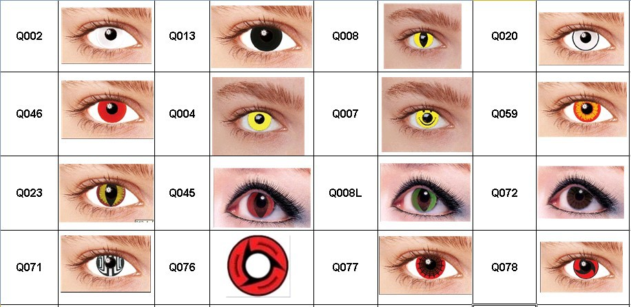 New Designs Customized Contact Lenses Monster Contact Lens