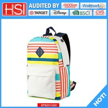 audited factory wholesale price plain inexpensive rucksack backpack
