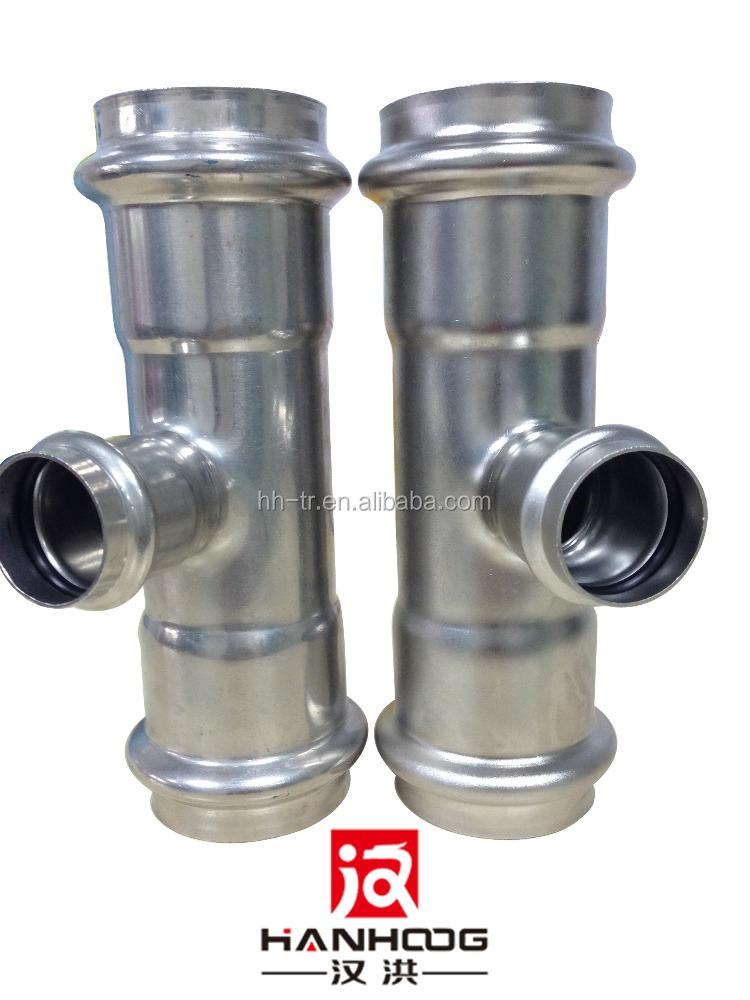 Wholesale stainless steel welded pipe fittings tee