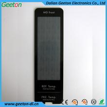Custom Screen Printing Translucent Black Front Panel Graphic Overlay