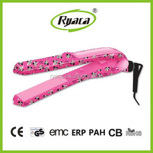 High quality Professional mini Hair Straightener BY-603 with Ceramic heating element